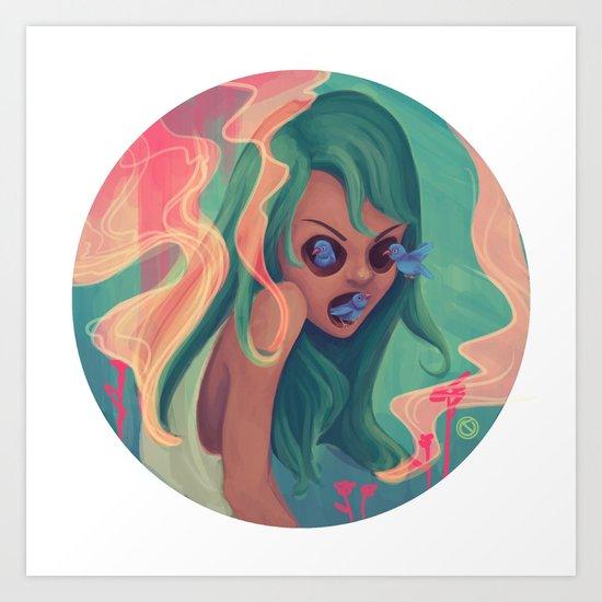 Estribillo Art Print