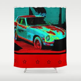 Beater Shower Curtain