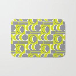 Grey Yellow Relationship Bath Mat