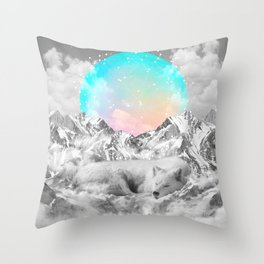 Put Your Thoughts To Sleep Throw Pillow
