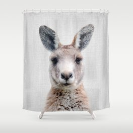 Kangaroo - Colorful Shower Curtain