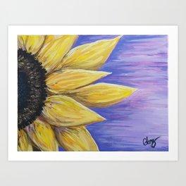 Sunflower Acrylic Art Print