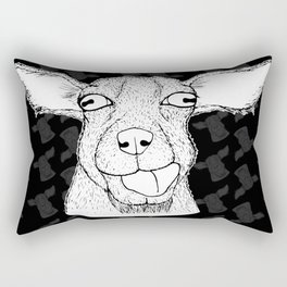 Goathead Rectangular Pillow