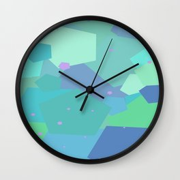 Pentagonal Hurrah  Wall Clock