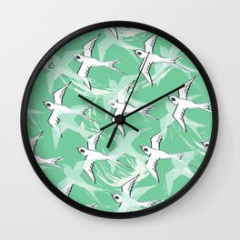 Green Migration Wall Clock