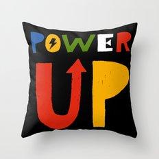 Power Up Throw Pillow