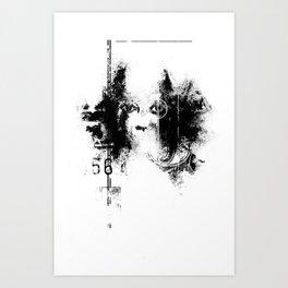 AWAKE // ASLEEP Art Print