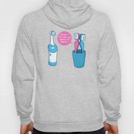 Toothbrush Fall In Electric Love Hoody