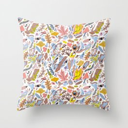 Rouge Park Pattern Throw Pillow
