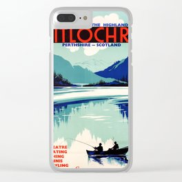 Pitlochry Heart Of The Highlands Clear iPhone Case