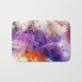 Colorful abstract background Bath Mat