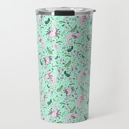 Cute Axolotls Travel Mug