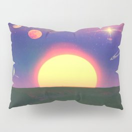 Burning Sun Pillow Sham
