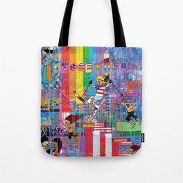 12 Digital 1 Tote Bag