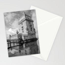 Belem Tower Lisbon 4 Stationery Cards