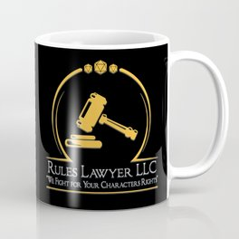 D&D - Rules Lawyer Coffee Mug