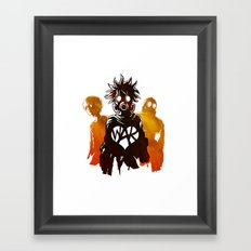 WAR Framed Art Print