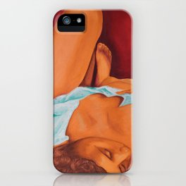Waiting iPhone Case