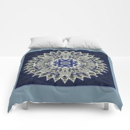 Diamonds and Sapphires Comforters