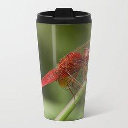 Red dragonfly Travel Mug