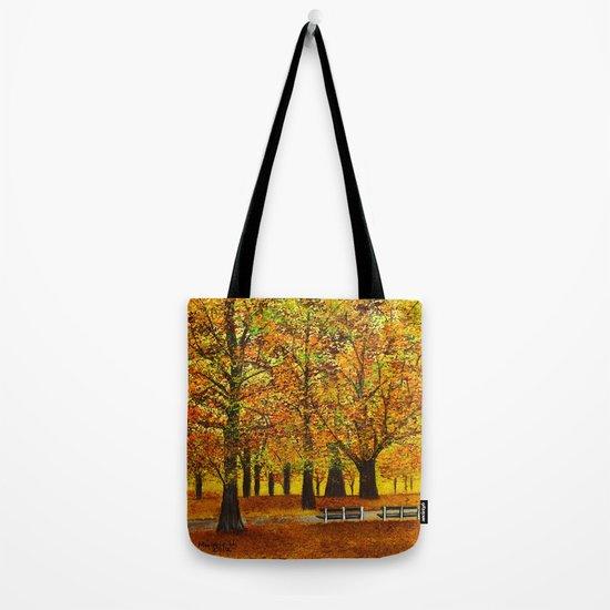 Golden park II Tote Bag