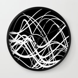Intersecting Flow Wall Clock