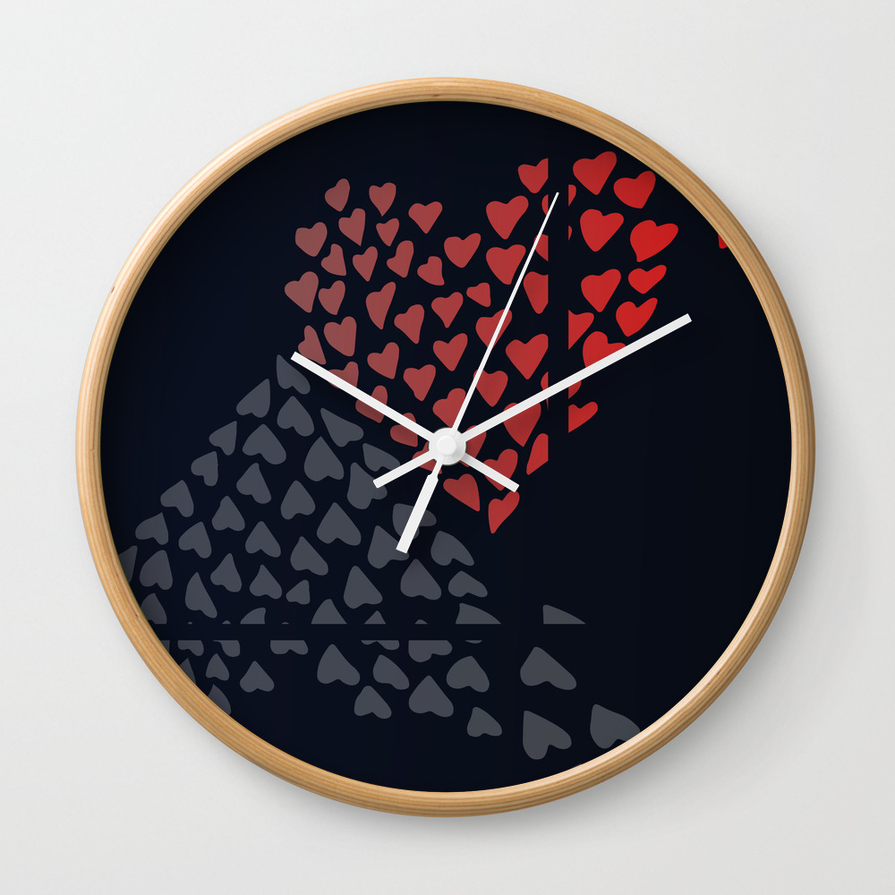 Irreconcilable Differences Wall Clock by Alegnaart CLK8092452