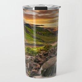 Tryfan and Llyn Ogwen Snowdonia Travel Mug