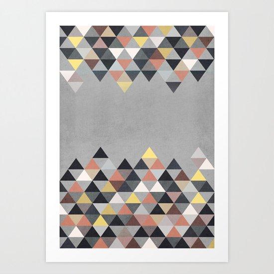 Nordic Combination 14 Art Print