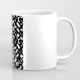 Control Your Game - White on Black Coffee Mug