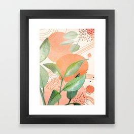 Elegant Shapes 26 Framed Art Print