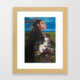 Explorer Rapa Nui Framed Art Print