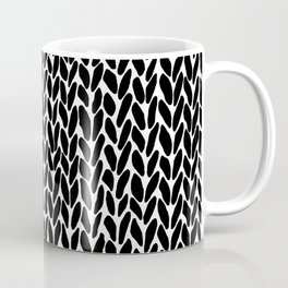 Hand Knit Zoom Coffee Mug