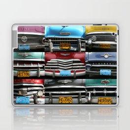 Cuba Car Grilles - Horizontal Laptop & iPad Skin