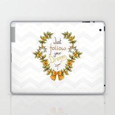 Flower laurel Laptop & iPad Skin