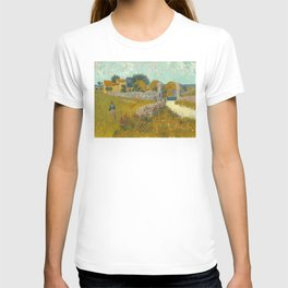 Vincent van Gogh - Farmhouse in Provence T-shirt