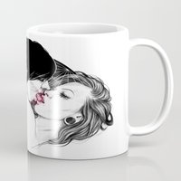 girls Mugs featuring Girls by Anna Sun