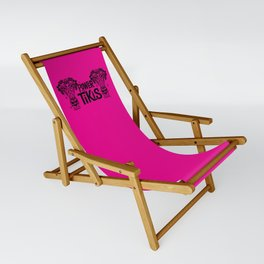 Power to the Tikis - hot pint Sling Chair