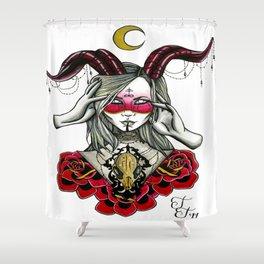 Fabel She Devil Shower Curtain