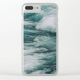waves xix / kailua-kona, hawaii Clear iPhone Case