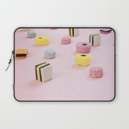Abstract Colored Chewy Candies Laptop Sleeve