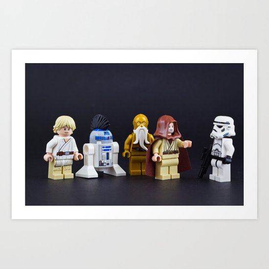 Not the droids Art Print