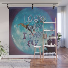 Look mom I can fly Wall Mural