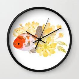 Ranchu and Adonis Wall Clock