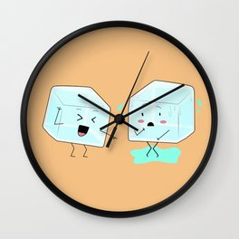 Ice cube problems Wall Clock