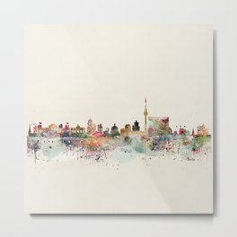 berlin germany Metal Print