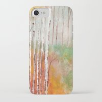 birch iPhone & iPod Cases featuring Birch  by Indraart