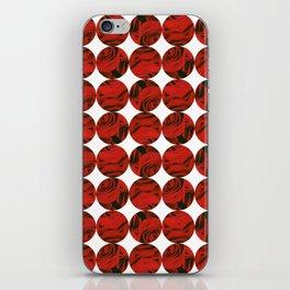 Roses (red) iPhone Skin