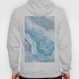 Ocean Foam Mermaid Marble Hoody