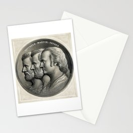 Defender, Martyr, Father -- Grant, Lincoln, And Washington Stationery Cards